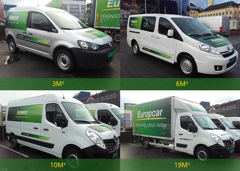 Lei bil av Europcar